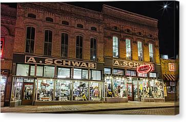 A Schwab - Memphis Canvas Print by Stephen Stookey