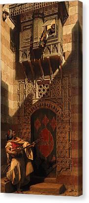A Serenade In Cairo Canvas Print by Carl Haag