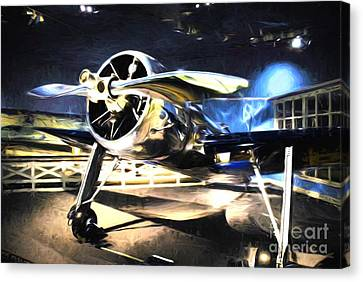 A Shining Example Canvas Print by Mel Steinhauer