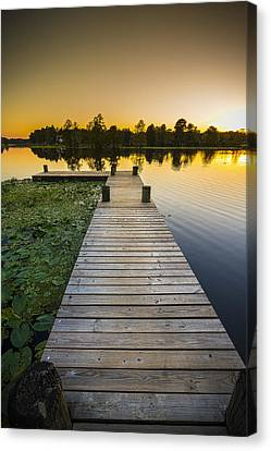 A Short Walk Canvas Print