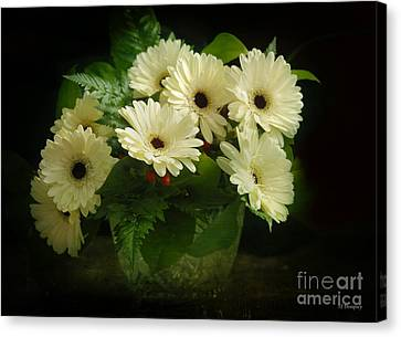 A Simple Bouquet Canvas Print by Nancy Dempsey