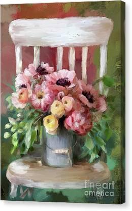 A Simple Bouquet Canvas Print