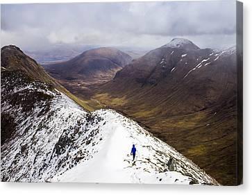 A Simple Hike Canvas Print by Britten Adams