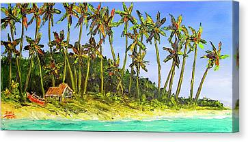 A Simple Life#374 Canvas Print by Donald k Hall