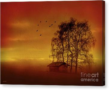 A Slice Of Country Canvas Print by KaFra Art