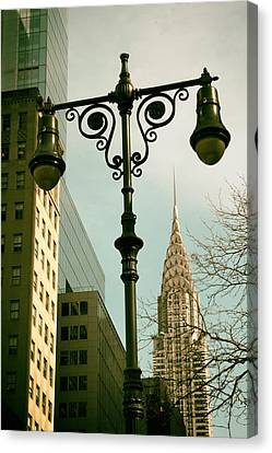 A Slice Of New York Canvas Print by Jessica Jenney