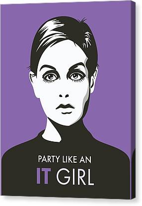 A Snark It Girl  Canvas Print by Snark Notes