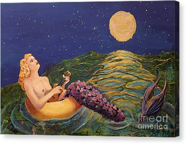 Canvas Print - Song Of Love by Linda Queally