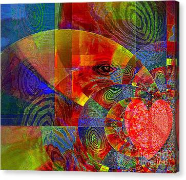 A Special Kind Of Love Canvas Print by Fania Simon