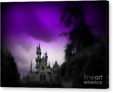 A Spell Cast Once Upon A Time Canvas Print