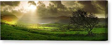 A Spot Of Sunshine Canvas Print by John Chivers
