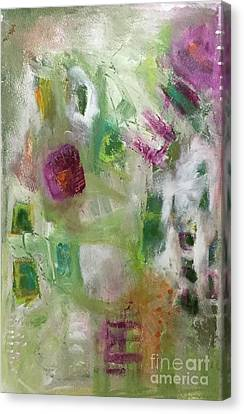 A Spring In Her Step Canvas Print by Gail Butters Cohen