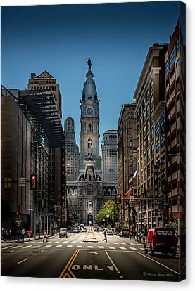 A Step Above  Canvas Print by Marvin Spates