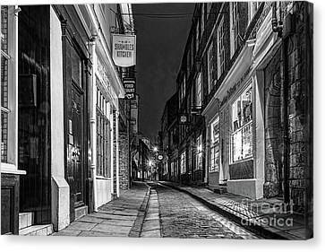 A Step Back In Time Canvas Print by David  Hollingworth