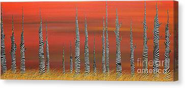 A Still Day On The Outskirts Of Hades Canvas Print