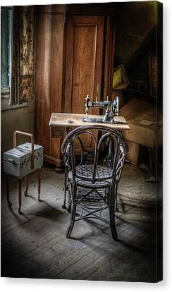 A Stitch In Time Canvas Print by Nathan Wright