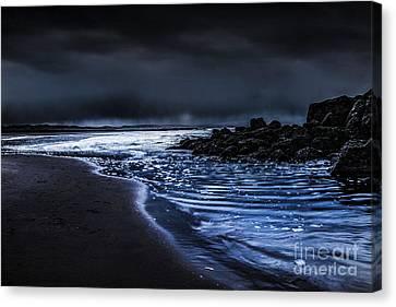Chris Evans Canvas Print - A Storm At Sea  by Chris Evans