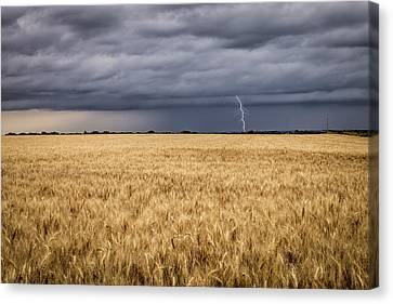 A Storm Passing By Canvas Print