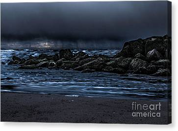 Chris Evans Canvas Print - A Stormy Sky  by Chris Evans