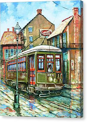 A Streetcar Named Desire Canvas Print by Dianne Parks