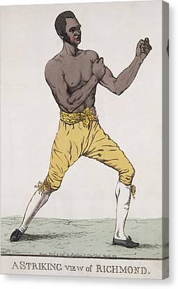 Boxer Canvas Print - A Striking View Of Richmond by Richard Dighton