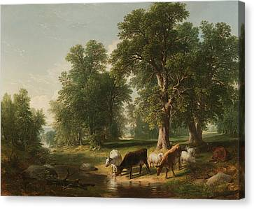 A Summer Afternoon Canvas Print
