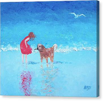 A Summer Breeze Canvas Print by Jan Matson