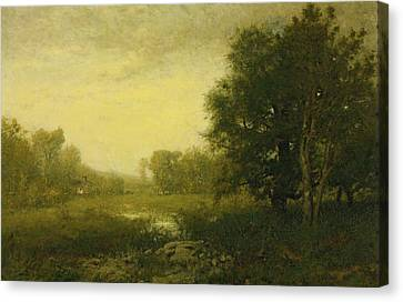 A Summer Day Canvas Print by Alexander Helwig