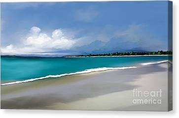 A Summer Day Canvas Print