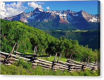 Canvas Print featuring the photograph A Summer In Telluride by John De Bord