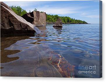 A Superior Shoreline Canvas Print