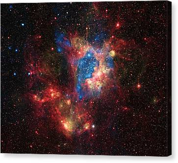 A Surprising Superbubble Canvas Print