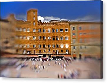 A Surreal Siena Canvas Print by Marilyn Hunt