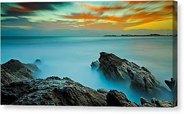 A Surrealists' Dawn Canvas Print by Mark Lucey