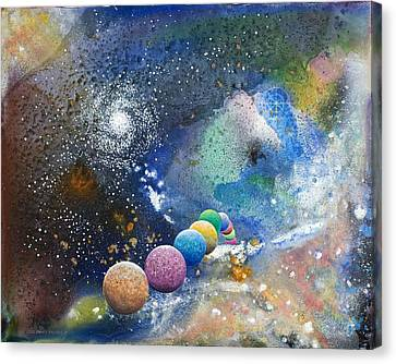 A Sweet Dance In The Heart Of God Canvas Print by Lee Pantas