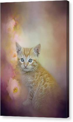 A Sweet Moment Canvas Print