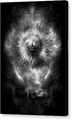 A-synchronous Ethereal Clouds Canvas Print