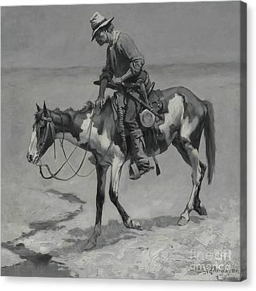 A Texas Pony, 1889  Canvas Print