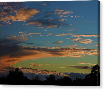 Canvas Print featuring the photograph A Time Long Ago by Mark Blauhoefer