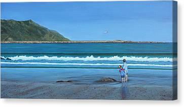 Aotearoa Canvas Print - A Time Of Wonder by Karen Wood