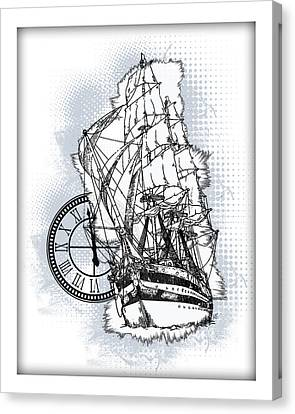 A Time To Sail 2 Canvas Print