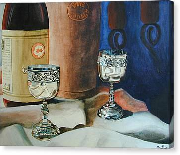 A Toast Canvas Print by Dwight Williams