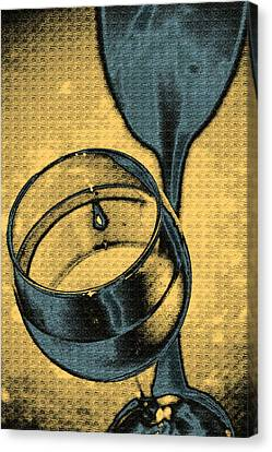 A Toast In Yellow Canvas Print by Marnie Patchett
