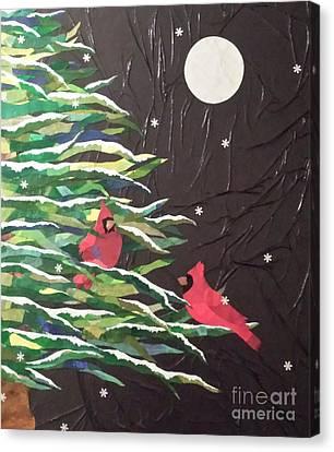 A Light Snowfall Canvas Print