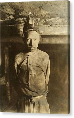 A Trapper Boy, Whose Job Was To Wait Canvas Print by Everett
