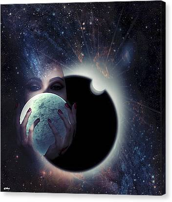 Outer Space Canvas Print - A Treasure To Behold 02 by G Berry