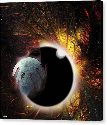 Outer Space Canvas Print - A Treasure To Behold by G Berry