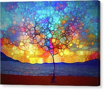 A Tree For A New Season Canvas Print