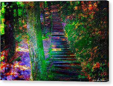A Trek Canvas Print by Iowan Stone-Flowers