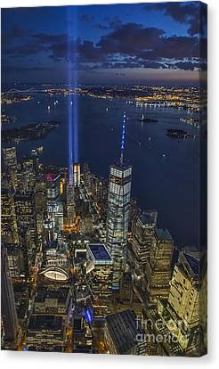 A Tribute In Lights Canvas Print